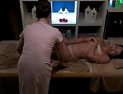 lesbian oil massage porn